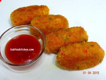 Mix veg cutlet
